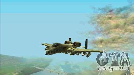 A-10 Warthog pour GTA San Andreas