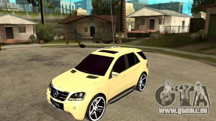 Mercedes-Benz ML 63 AMG für GTA San Andreas