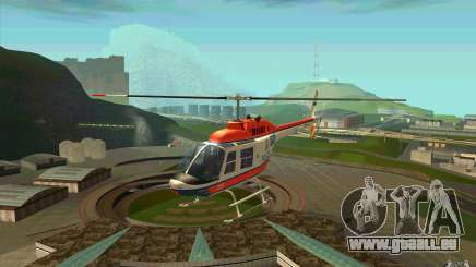 Bell 206 B Police texture2 pour GTA San Andreas