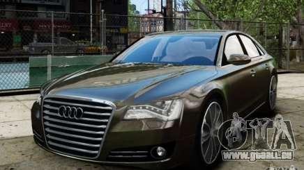 Audi A8 (D4, Typ 4H) 2010 Alpha pour GTA 4
