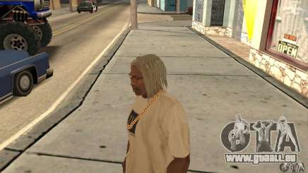 Longs cheveux blonds pour GTA San Andreas