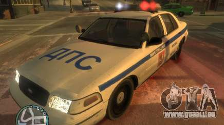 Ford Crown Victoria Police pour GTA 4