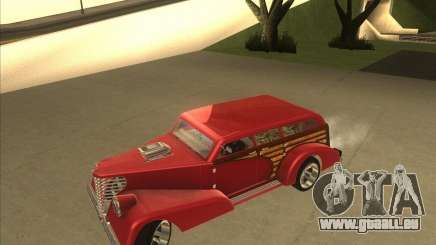 Custom Woody Hot Rod für GTA San Andreas