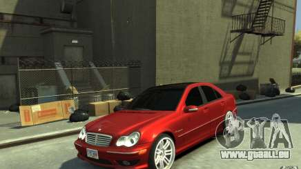 Mercedes-Benz C32 AMG Light Tuning pour GTA 4