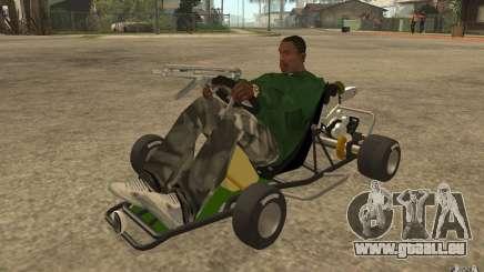 Hayabusa Kart pour GTA San Andreas