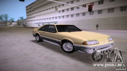 Ford Mustang GT 1993 pour GTA Vice City
