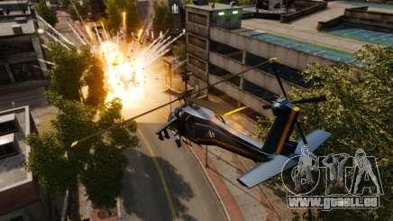 Ein Hubschrauber mit einem RPG für GTA 4