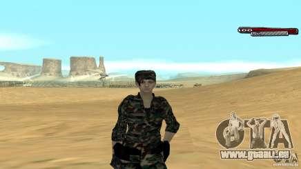 Soldat HD pour GTA San Andreas