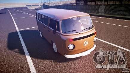 Volkswagen Kombi Bus pour GTA 4