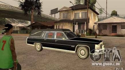 Cadillac Fleetwood Hearse 1985 pour GTA San Andreas
