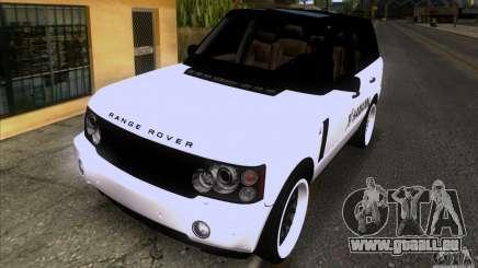 Range Rover Hamann Edition pour GTA San Andreas
