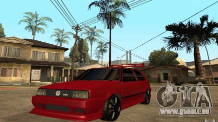Volkswagen Golf 2 GTI Tuned pour GTA San Andreas