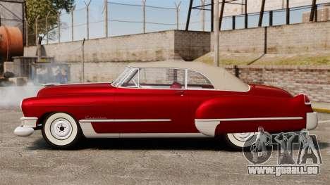 Cadillac Series 62 convertible 1949 [EPM] v1 für GTA 4 linke Ansicht