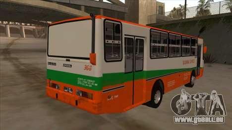 Tacurong Express 368 für GTA San Andreas rechten Ansicht