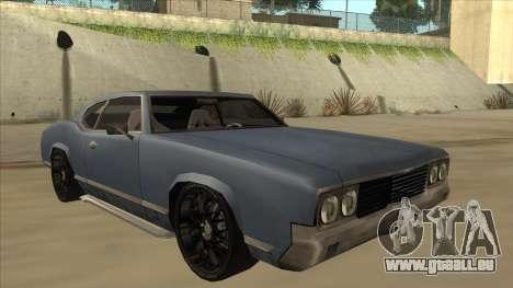 Tuned Sabre für GTA San Andreas linke Ansicht