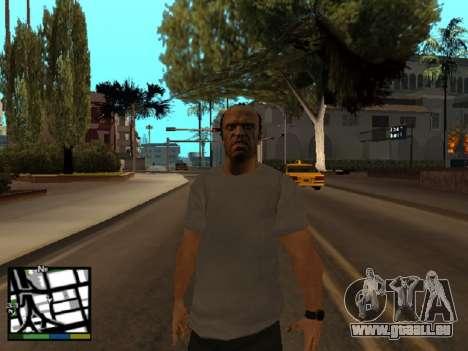 Trevor Philips de GTA 5 pour GTA San Andreas troisième écran