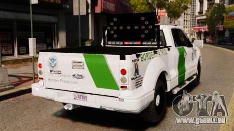 Ford F-150 v3.3 Border Patrol [ELS & EPM] v3 pour GTA 4 Vue arrière de la gauche