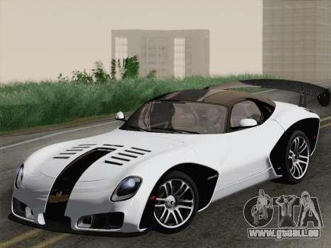 Devon GTX 2010 für GTA San Andreas Innen