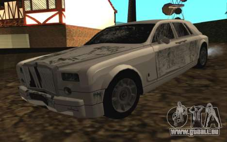Rolls-Royce Phantom v2.0 pour GTA San Andreas vue intérieure