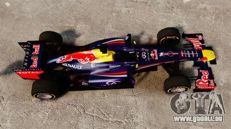 Auto, Red Bull RB9 v2 für GTA 4 rechte Ansicht