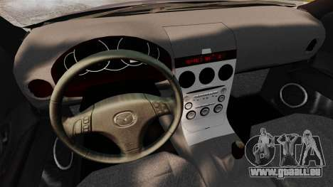 Mazda 3 Sport pour GTA 4 Vue arrière de la gauche