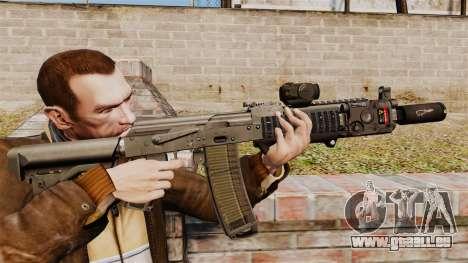 Automatische MM118-AK für GTA 4