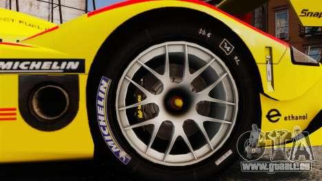 Porsche RS Spyder Evo für GTA 4 Rückansicht