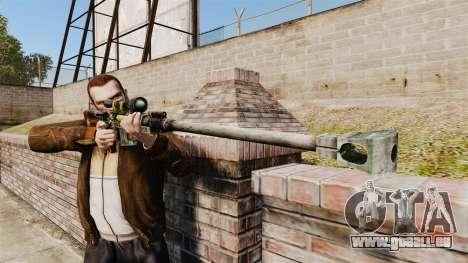 Fusil anti-matériel pour GTA 4 troisième écran