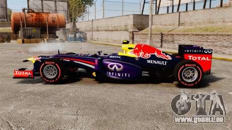 Rb9 v6 Auto, Red Bull für GTA 4 linke Ansicht