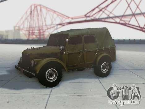 UAZ-69 A pour GTA San Andreas salon