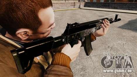 KALASHNIKOV AK-12 pour GTA 4 secondes d'écran