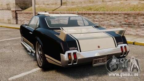 Sabre GT Muscle Version für GTA 4 hinten links Ansicht