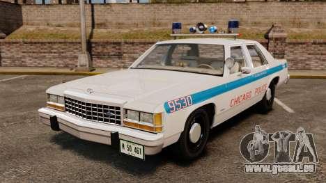 Ford LTD Crown Victoria 1987 [ELS] pour GTA 4