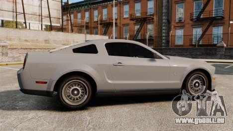 Ford Mustang Shelby GT500 2008 pour GTA 4 est une gauche