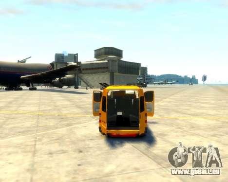 Gazelle 3221 für GTA 4 Rückansicht