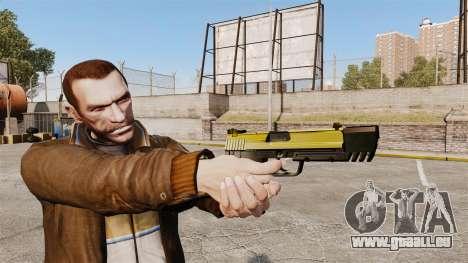 Ladewagen Pistole USP H & K v4 für GTA 4