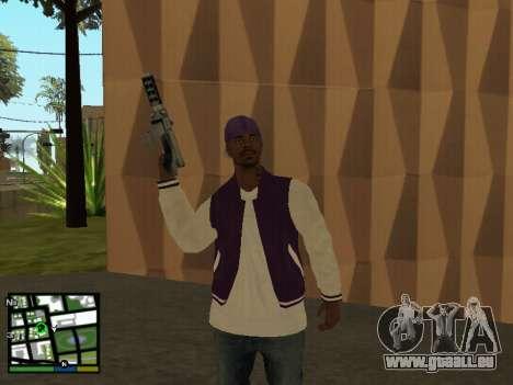 Ballas pour GTA San Andreas troisième écran