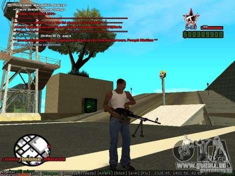 Sobeit 4.2.2.1 (2011) [RUS] pour GTA San Andreas troisième écran