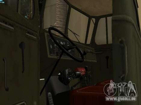 Ural 4320 Tonar pour GTA San Andreas vue de côté