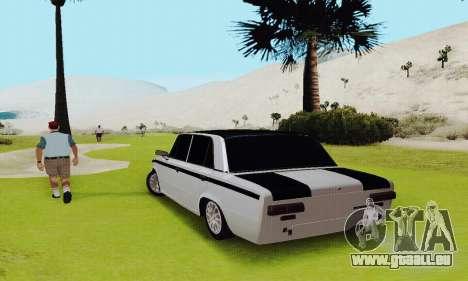 VAZ 2101 für GTA San Andreas Innenansicht