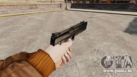 Ladewagen Pistole H & K USP v1 für GTA 4 Sekunden Bildschirm