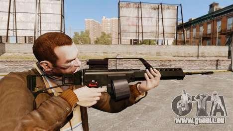 Fusil d'assaut H & K MG36 v1 pour GTA 4