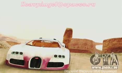 Bugatti Veyron 16.4 Concept pour GTA San Andreas