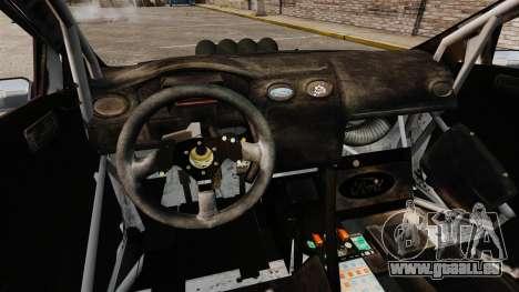 Ford Focus RS Munchis WRC pour GTA 4 est une vue de l'intérieur