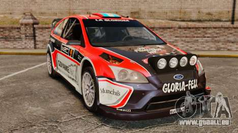 Ford Focus RS Munchis WRC pour GTA 4