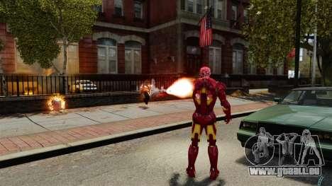 Iron Man IV v 2.0 pour GTA 4 septième écran