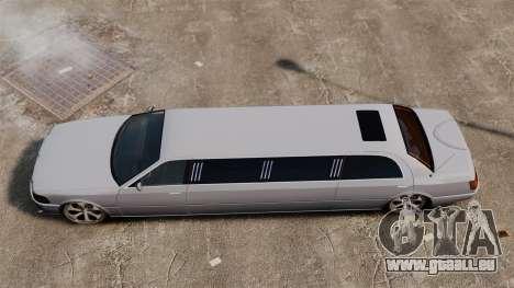 Limousine sur les lecteurs de 22 pouces pour GTA 4 est un droit