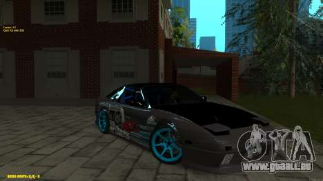 Nissan Silvia RPS13 CIAY pour GTA San Andreas vue de côté