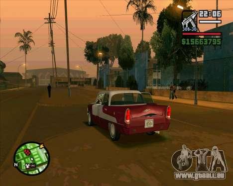 Oceanic HD für GTA San Andreas Rückansicht