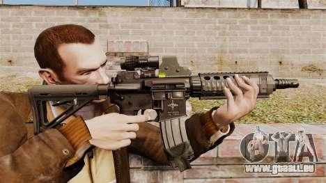 Carabine M4 CQC dans le style de Modern Warfare pour GTA 4